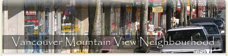 Vancouver Mountain View Neighbourhood
